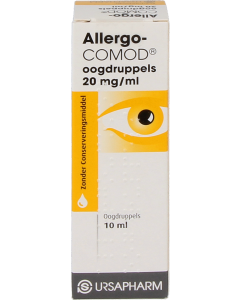 Allergocomod oogdruppels, 10ml