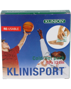 Klinion klinisport cold/hot pack herbruikbaar, 1st