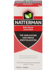 Natterman bronchium extra sterk, 100ml