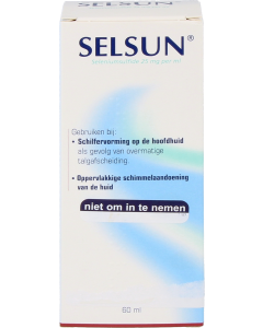 Selsun 25mg/ml suspensie, 60ml