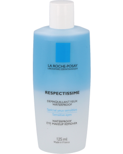 La roche posay respectissime waterproof makeup remover, 125ml