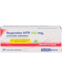 Ibuprofen 200mg HTP tablet, 20st