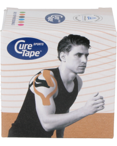 Curetape sports 5cm x 5mm sport-tape, 1st